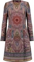 Etro Printed wool-blend coat