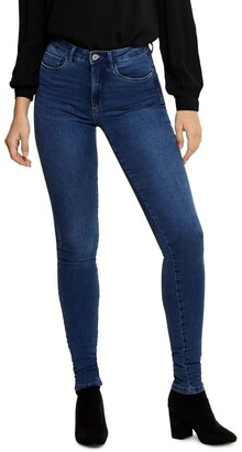 Only Royal High Waisted Skinny Jeans Mid