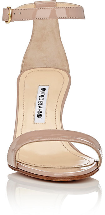 Manolo Blahnik Women's Chaos Ankle-Strap Sandals