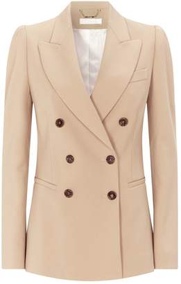 Chloé Tailored Double-Breasted Blazer