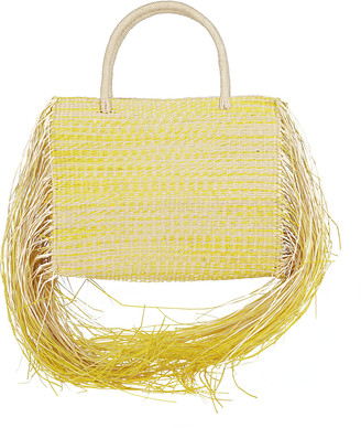 Sensi Yellow Straw Bag