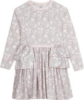 No Added Sugar Swirl pattern cotton dress 4-12 years