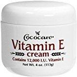 Cococare Vitamin E Cream 4 oz (Pack of 9)