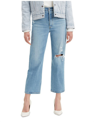 Levi's Ribcage Straight Ankle Jeans Mid