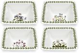 Portmeirion Botanic Garden 4-pc. Square Mini Bowl Set
