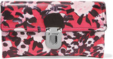 Marni Printed leather clutch