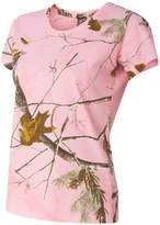 Code V Ladies' Realtree Camouflage T-Shirt , Color: RealTree AP , Size: