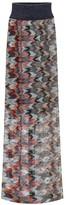 Missoni Metallic knit maxi skirt