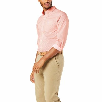 Dockers Long Sleeve Button Front Comfort Flex Shirts