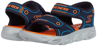 Skechers Hypno - Splash 90522L (Little Kid/Big Kid) (Navy/Orange) Boy's Shoes