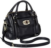 Merona Women's Mini Satchel Faux Leather Handbag with Removable Crossbody Strap