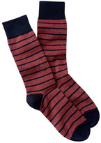 Peter Millar Striped Crew Socks