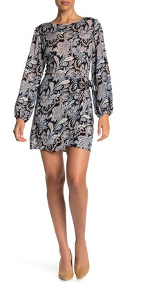 Love...Ady Paisley Long Sleeve Dress