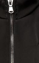 Antonio Berardi Satin Neoprene Jacket With Airtex Sleeves
