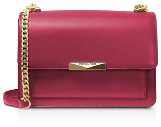 Michael Kors Cherry Red Jade Crossbody Bag