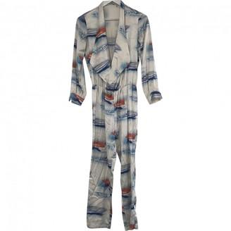 Ashley Williams Multicolour Silk Jumpsuit for Women