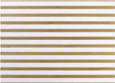 ASA Bamboo Striped Placemat - White Stripe