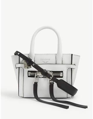 Zadig & Voltaire ZADIG&VOLTAIRE Candide Nano leather tote bag