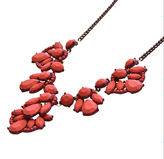 Oasis Red Statement Necklace