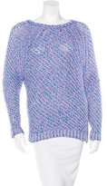 Maje Textured Raglan Sleeve Sweater