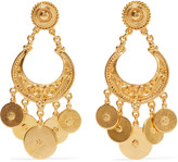 Ben-Amun Gold-tone earrings