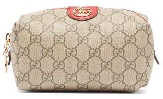 Gucci Ophidia Gg Supreme Canvas Make-up Bag - Womens - Grey Multi