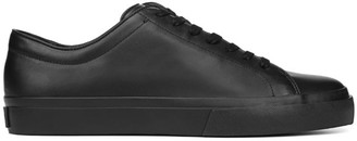 Vince Farrell Leather Lace-Up Sneakers