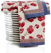 Pottery Barn Cherry Blossom Tea Trellis Block Print Tea Towels, Set of 3