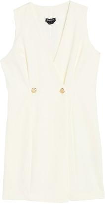Bebe Sleeveless Suiting Dress