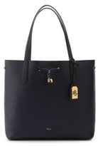 Lauren Ralph Lauren Dryden Collection Diana Leather Tote