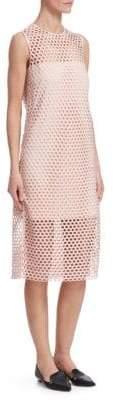 Akris Punto Lace Midi Dress