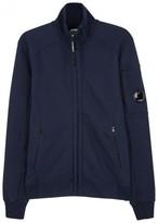 C.p. Company Navy Cotton Sweatshirt