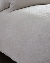Vera Wang King Textured Floral Duvet Cover