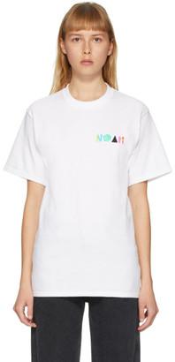 Noah NYC White More Core T-Shirt