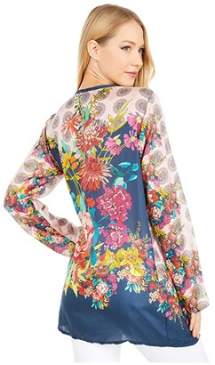 Johnny Was Cai Top (Multi) Women's Clothing
