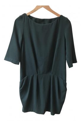BA&SH Green Synthetic Dresses
