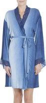 Jonquil Stormy Skies Jersey Wrap Robe, Blue