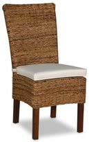Jeffan Decorative Brown Transitional Farra Accent Chair with Cushion