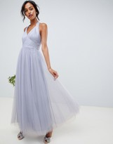 Asos DESIGN soft tulle maxi dress