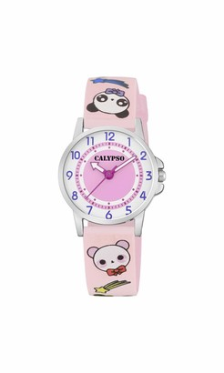 Calypso Watches Unisex Child Analogue Classic Quartz Watch with Plastic Strap K5775/4