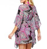 Porto Cruz Paisley Medallion Tunic Cover Up