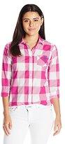 U.S. Polo Assn. Juniors' Poplin Striped Button-Front Shirt