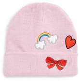 Tucker + Tate Girl's Patch Beanie - Pink