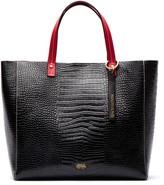 Frances Valentine Margaret Embossed Leather Tote