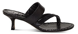 Vince Camuto Women's Moentha Snake-Embossed High-Heel Sandals