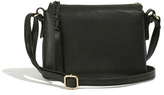 Oasis Womens Black Small Multi Pocket Bag - Black