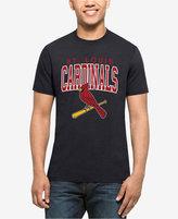 '47 Men's St. Louis Cardinals Splitter Blockhouse T-Shirt