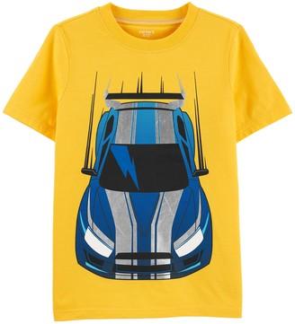 Carter's Boys 4-14 Race Car Graphic Tee