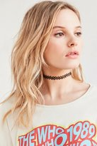Urban Outfitters Tattoo Choker Necklace