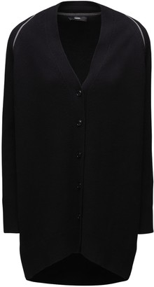 Diesel M-cleo Zipped Wool Blend Cardigan
